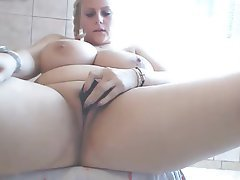Amateur BBW Big Boobs Masturbation Webcam
