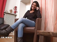 Amateur Babe Casting French Indian