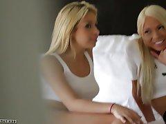 Blonde Lesbian Small Tits Teen