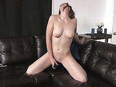 Brunette Masturbation Small Tits