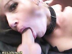 Anal Blonde Piercing Teen Threesome