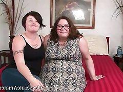 Amateur BBW Big Boobs Casting MILF