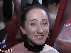 Blowjob Cumshot Facial Bukkake Gangbang
