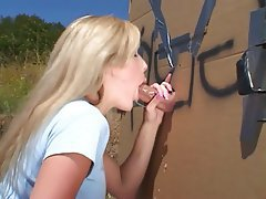 Blowjob Outdoor Gloryhole