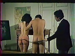 Group Sex Hairy Old and Young Spanking Vintage